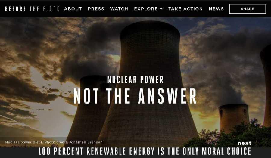 la energia nuclear no es la respuesta